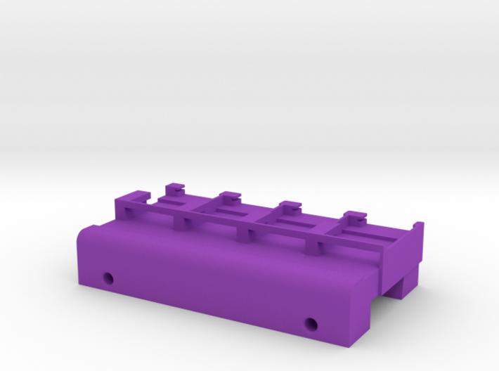 Neoden 4-Gang, 24mm feeder block 3d printed
