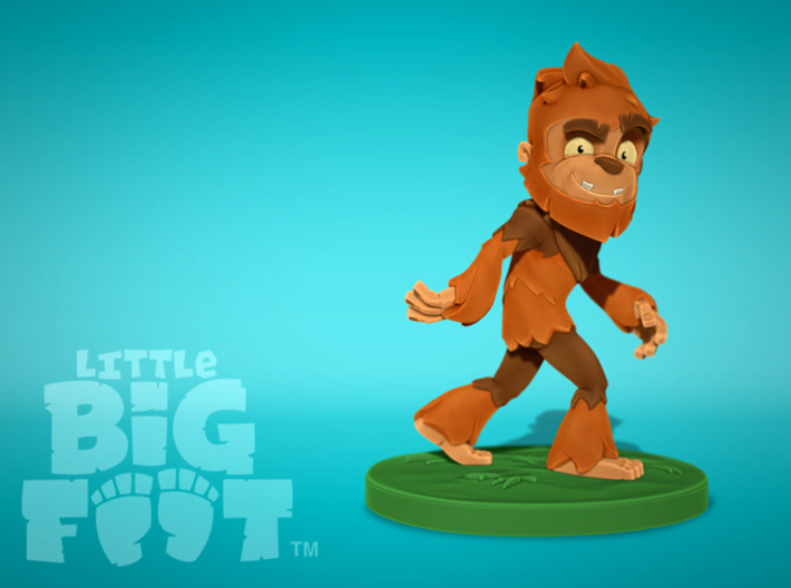 Little Bigfoot Classic Small 3d printed Little Bigfoot, Little Bigfoot