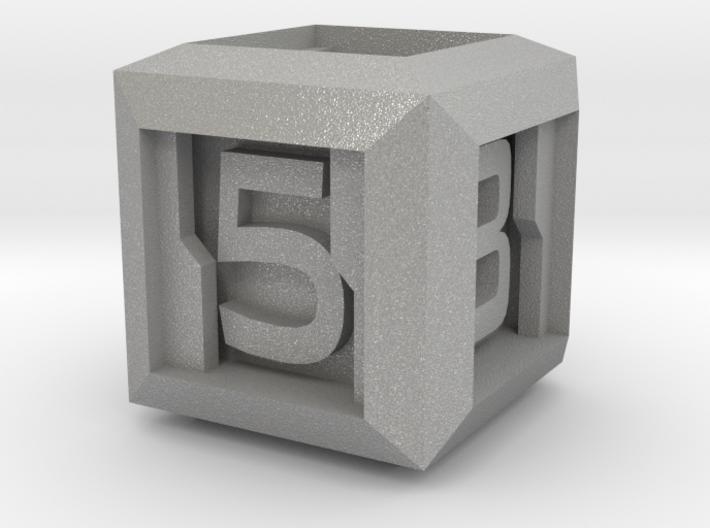 Sci-fi Crate D6 - 16mm die 3d printed