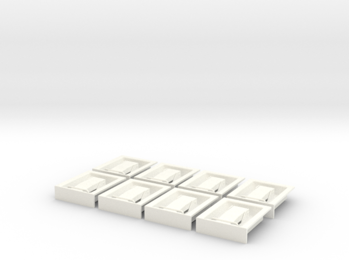 1.6 POIGNEES ATTACHES CAPOT X8 3d printed