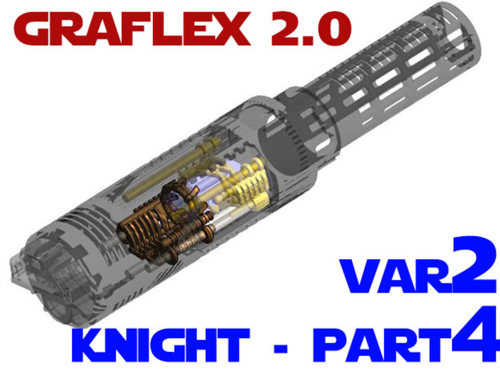 Graflex2.0 - Knight Chassis Variant 2 - Part4 3d printed
