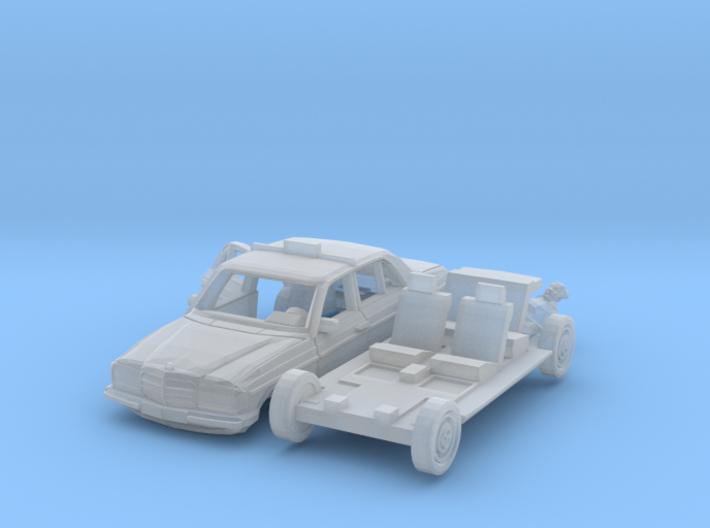 SET Taxi ride (N 1:160) 3d printed