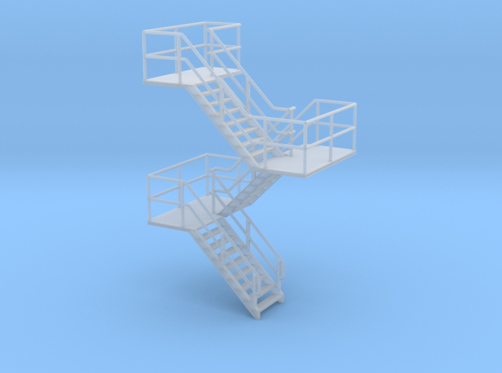 HO Staircase 57.5mm 3d printed