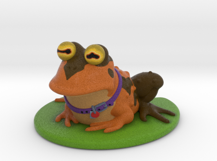 Hypnotoad 3d printed All glory to the Hypnotoad!