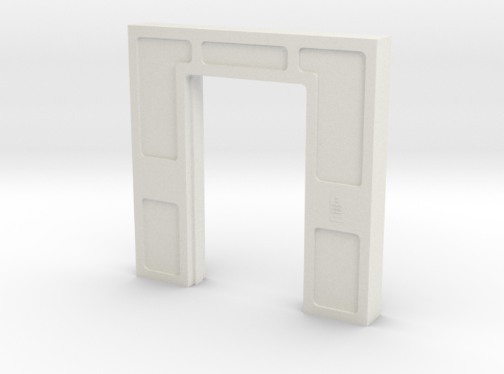Door, Double Open No Threshold (Space: 1999) 1/30 3d printed