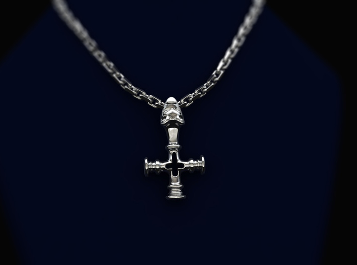 Thors Hammer Disguised as a Crucifix 3d printed