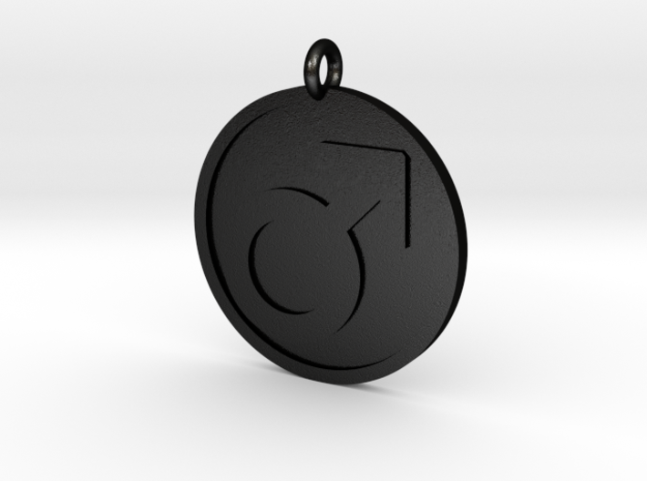 Male Pendant 3d printed
