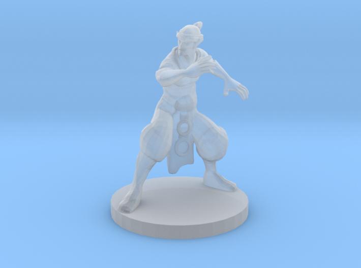 Elf Monk 3d printed