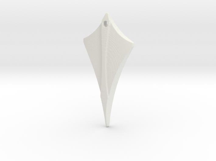 Flow Pendant 4 3d printed