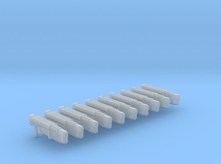 Tyros Pattern Plasma Gun X10 3d printed