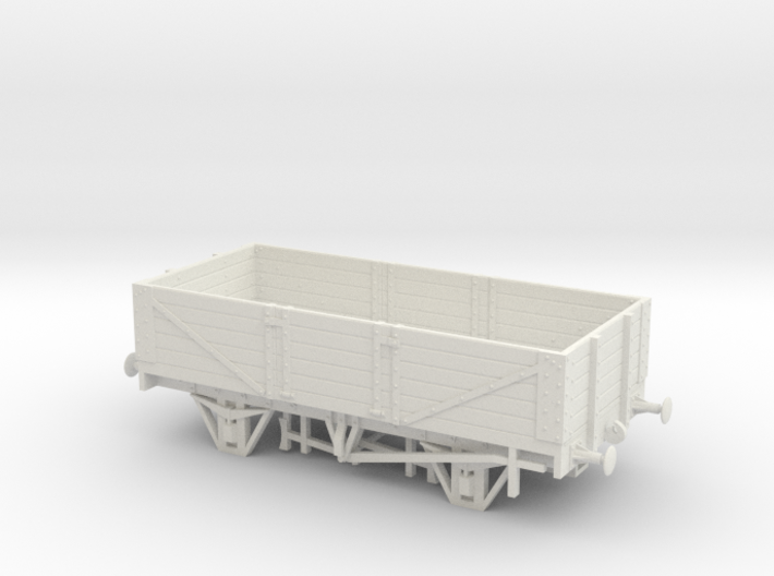 Private Owner Wagon: 18ft, 5 Plank, Side Doors 3d printed