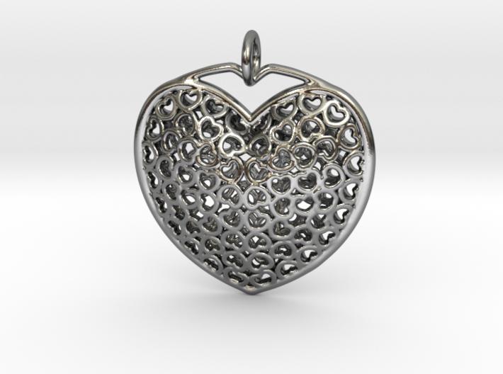 HeartPendant6 3d printed