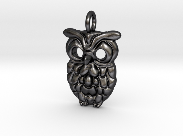 OwlPendant 3d printed