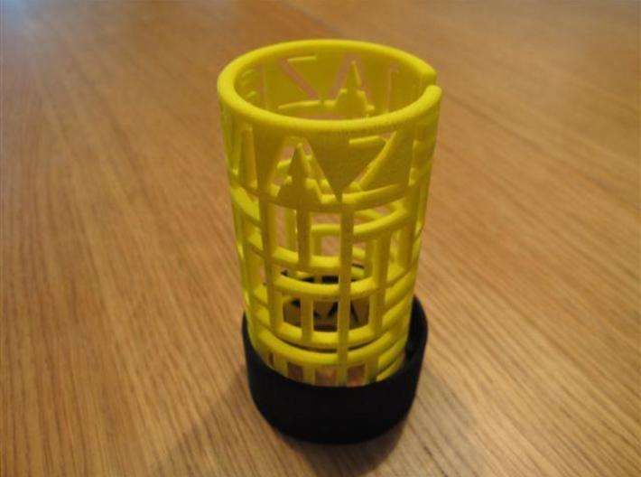 Cooksey Maze 3d printed Cooksey Maze: get the ring off the maze
