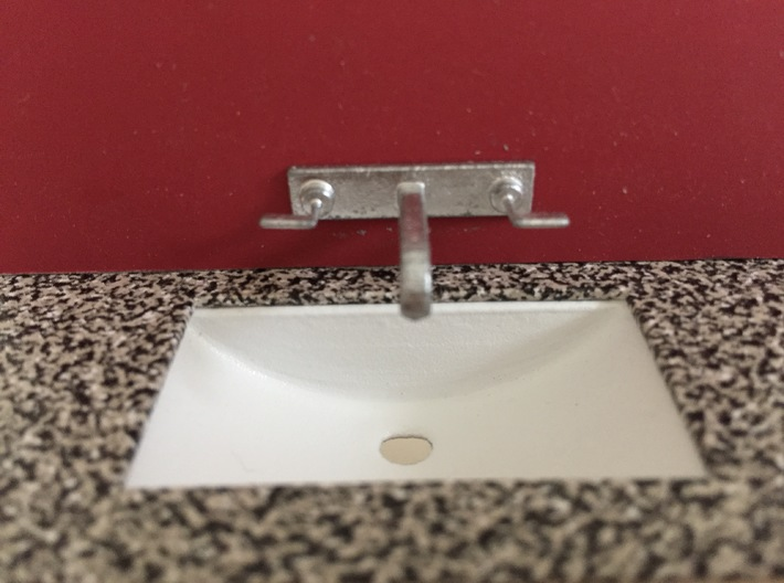 1:12 Tap wall mounted 3d printed