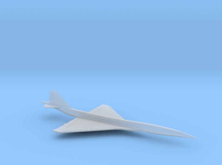 1/600 BOEING 2707 SUPERSONIC TRANSPORT (SINGLE) 3d printed