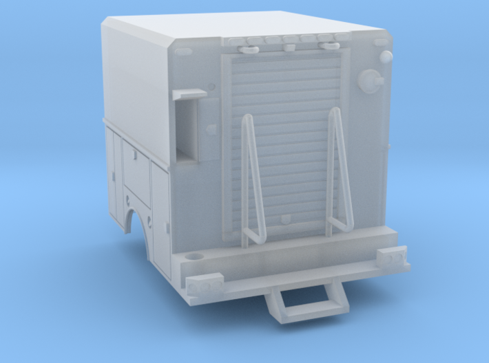 Utility Truck Work Bed 1-87 HO Scale RPS Truck 3d printed