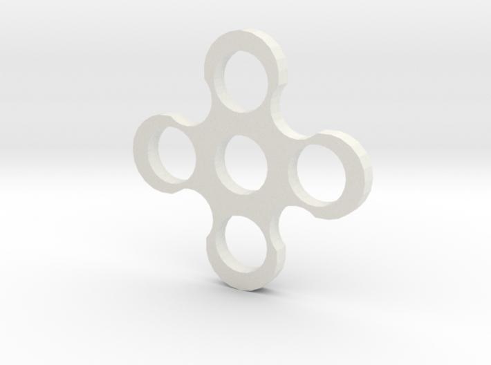 Fidgit Spinner2 3d printed