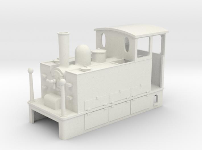HOe Blanc Misseron CdN Tram loco 3d printed