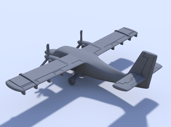 1:400 - Twin Otter 3d printed
