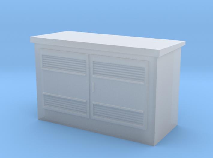 N Scale 630 kVA Transformer Housing 3d printed