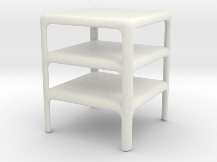 Stack of 3 Demetrio 45 Tables (Space: 1999), 1/ 30 3d printed