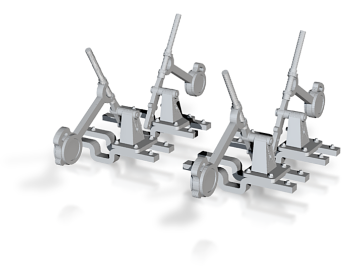 4 leviers d'aiguillage échelle N 1/160 3d printed