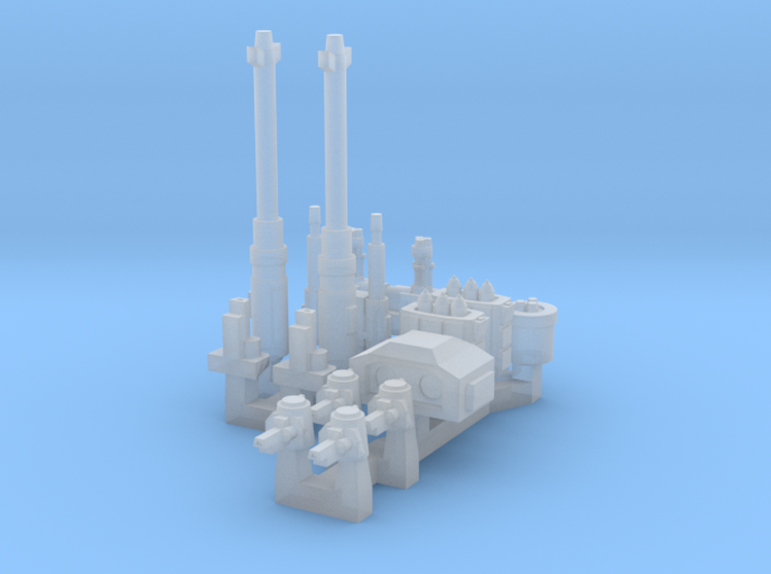 Turrets And Weapons One 3d printed