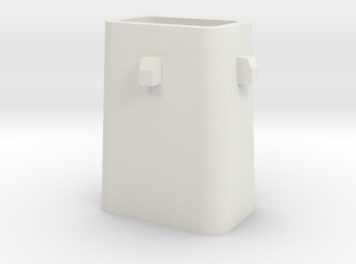 Stahlkokille 4 Zapfen ohne Boden 1:120 3d printed