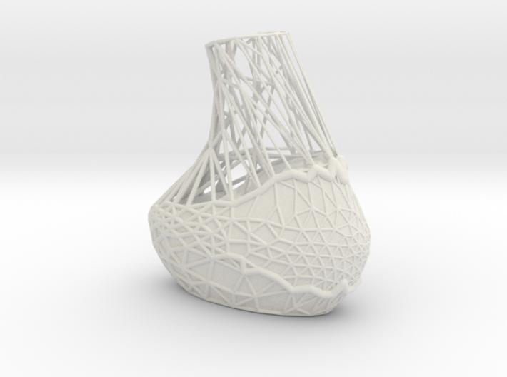 Geo Cutout Vase 3d printed