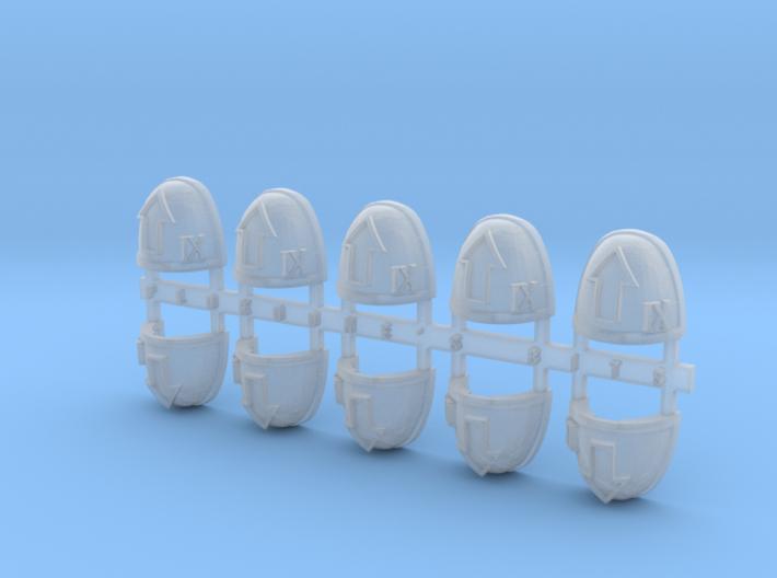 Tactical IX V.7 Shoulder Pads x10 3d printed