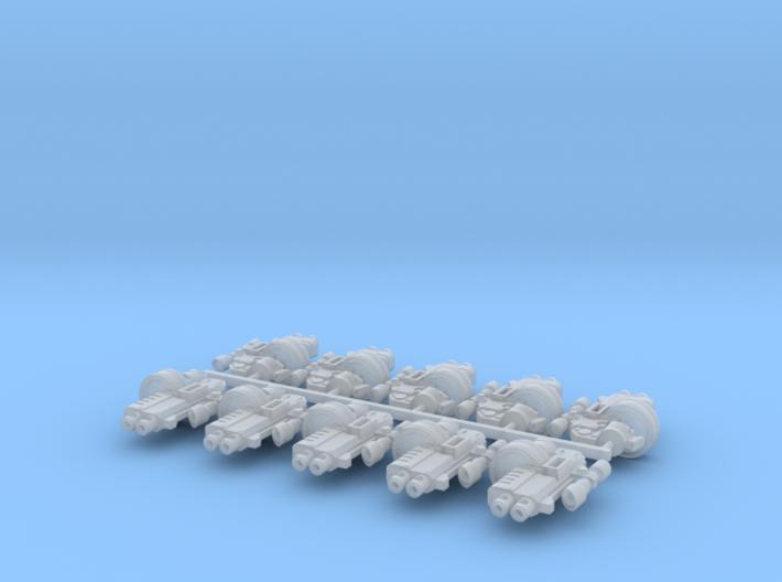 10x Rapfire-TB2D w/Scope 3d printed