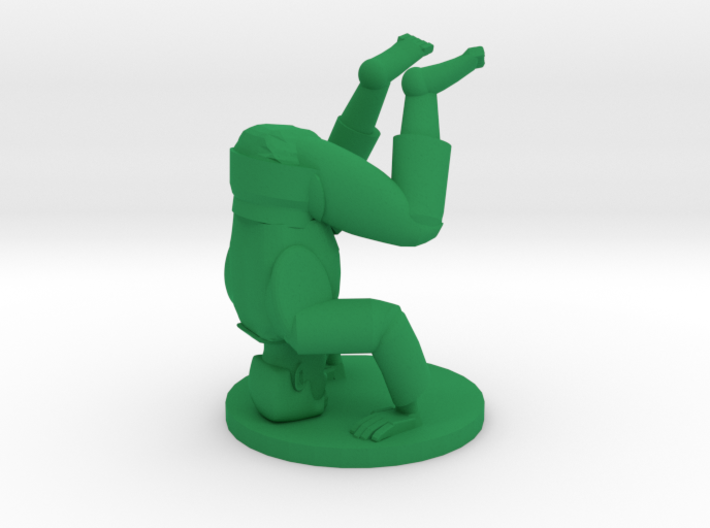 Dodgy pose 7 3d printed