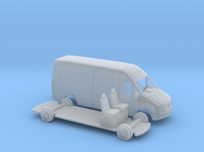 1/160 Mercedes Sprinter 3d printed
