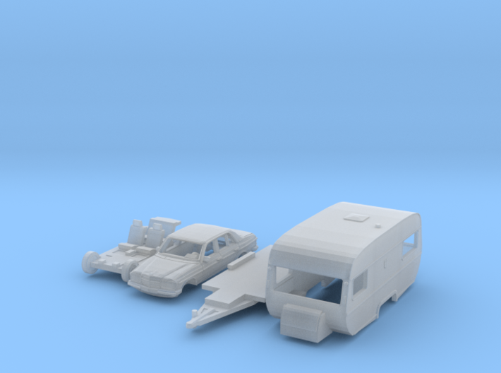 SET Mercedes-Benz & Tabbert Comtesse (N 1:160) 3d printed