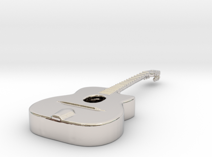 Gipsy Jazz Guitar (Selmer style) 3d printed
