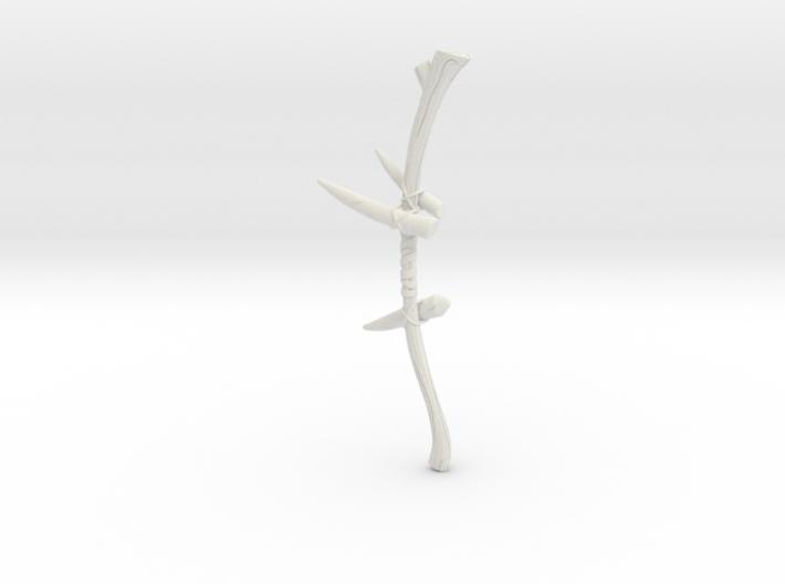 """""""BotW"""" Dragonbone Boko Bow 3d printed"""