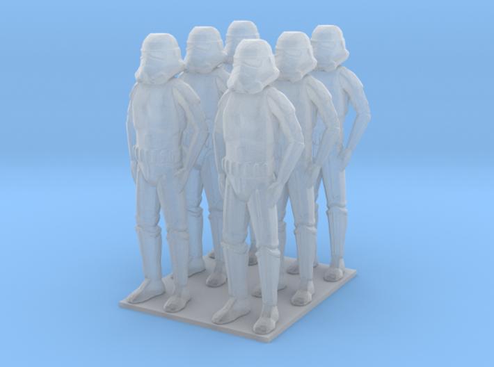 1/144 Trooper X 6 3d printed