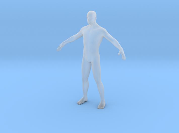 Human body 27mm 3d printed