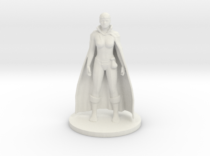 Human Wizard - Female 3d printed