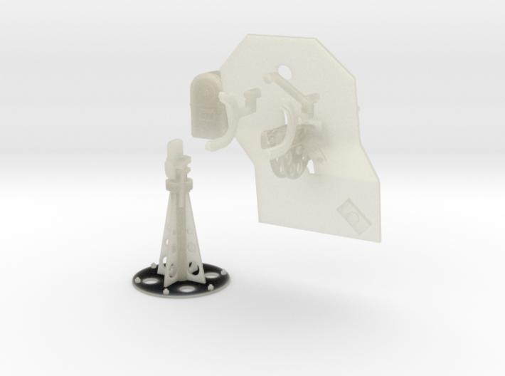 1/27 Cal 50 Pedestal Mount M39 3d printed