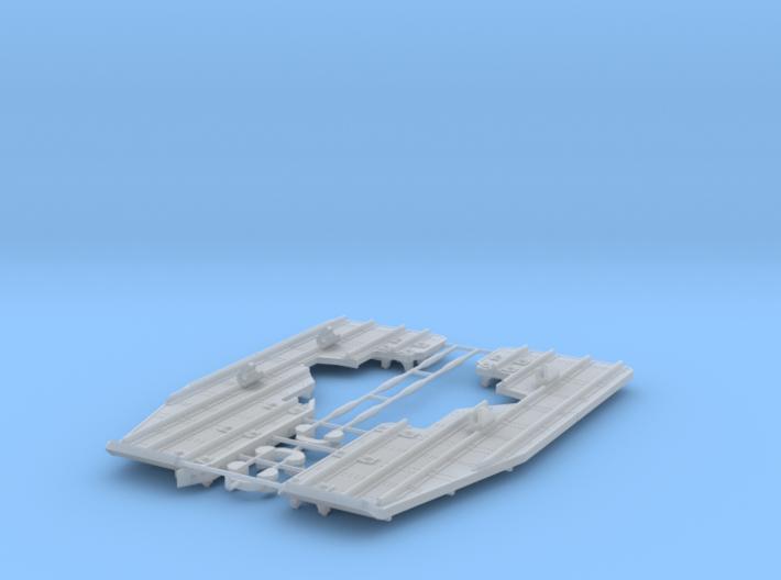 EC-135 Snow Skids 1/32 3d printed