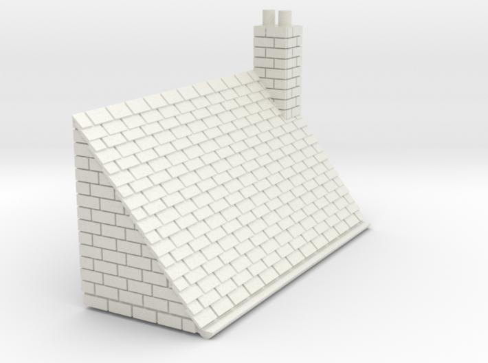 Z-152-lr-comp-stone-t-house-roof-rc-nj 3d printed