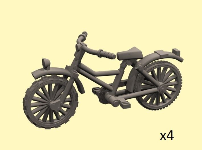 28mm scale Bicycle model 1 (4 pieces) 3d printed