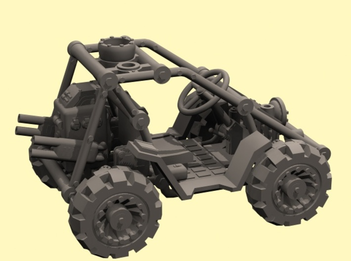 1/48 SciFi buggy - downloadable 3d printed