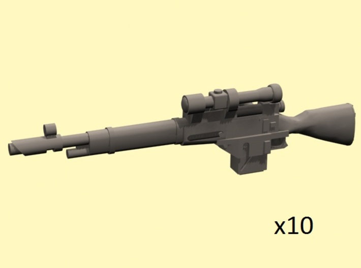 28mm Mosin-91 sniper laser rifles 3d printed