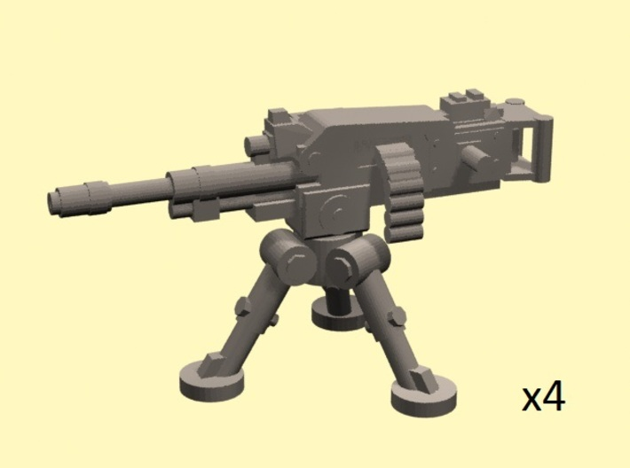 28mm heavy machinegun + tripod (4) 3d printed