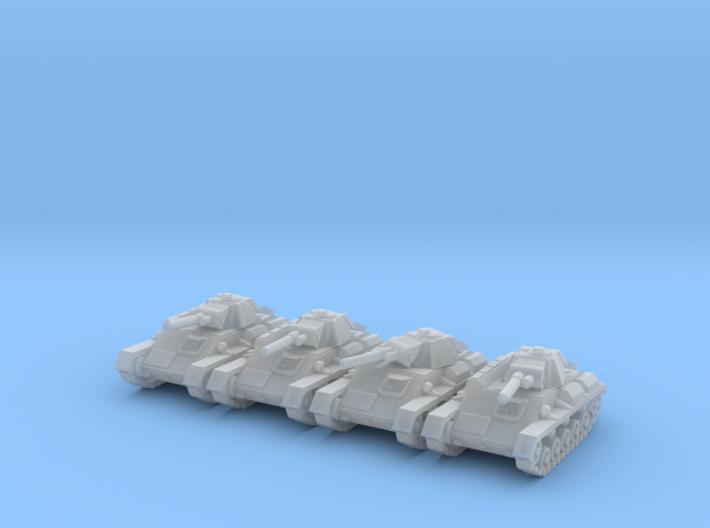 1/160 Soviet T-70 light tank (4) 3d printed