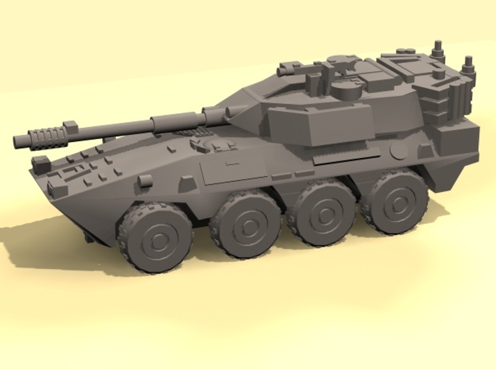 1/220 B1 Centauro armored car (3) 3d printed