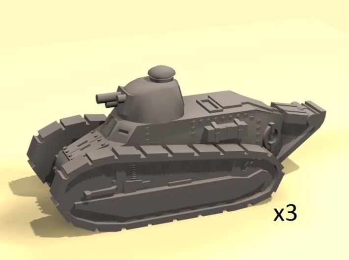 1/220 Renault tank WW1 3d printed